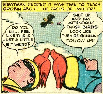 batman and robin twitter